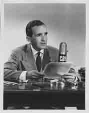 Edward R Murrow. Reproduced courtesy of Digital Collections and Archive, Tufts University.